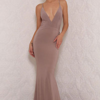 Chile Gown Taupe