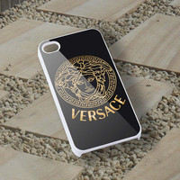 versace gold iphone case 5/5s,4/4s,5c and samsung case s3 i9300,s4 i9500