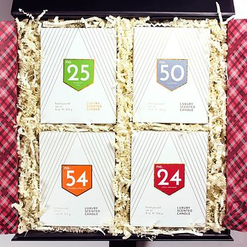 Digits 4 Piece Scented Candle Gift Box