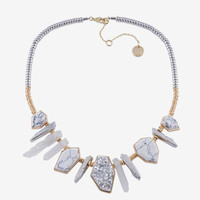 20 STONE DAGGER FRONTAL NECKLACE
