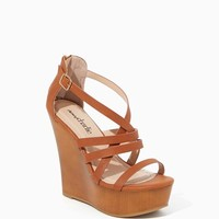 Liliana Strappy Wedges | Shoes | charming charlie