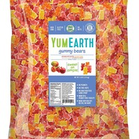 YumEarth Organic Gummy Bears, 5 Pound Bag (Packaging May Vary)