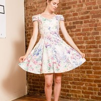 Vintage off the shoulder 80s prom dress (Small/Indie Brands)