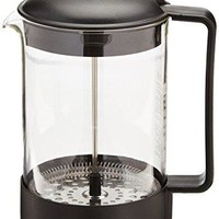 BODUM 1552-01US BRAZIL Coffee Maker, French Press Coffee Maker, Black, 51 Ounce (12 Cup)