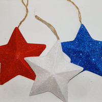 Fourth of July Star Decoration Set
