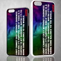 Dexter Morgan Quotes X1637 iPhone 4S 5S 5C 6 6Plus, iPod 4 5, LG G2 G3 Nexus 4 5, Sony Z2 Case