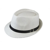Straw paper country style trilby