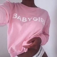 Baby Girl Pullover
