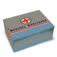 Medical Marijuana Tin Cigar Box - Whimsical & Unique Gift Ideas for the Coolest Gift Givers