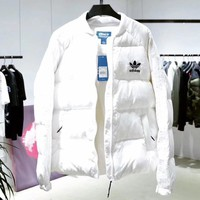 ADIDAS Woman Men Fashion Down Coat Jacket Coat Cardigan Windbreaker-1