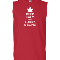 kee calm and carry a bong - Sleeveless T-shirt
