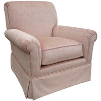 Angel Song 204721195Foam Versailles Velvet Pink Adult Regent Rocker Glider