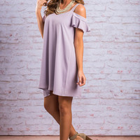 In A Perfect World Dress, Lavender