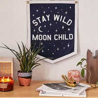 Three Potato Four Stay Wild Moon Child Banner | Urban Outfitters