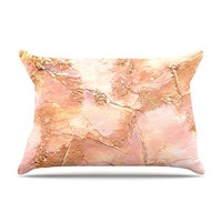 Rosie Brown 'Bronze It' Paint Pillow Case