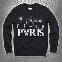 Band Photo Black Crewneck Sweatshirt : RSRC : PVRIS