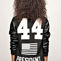 """BARACK OBAMA 44th President Ssweat-shirt """"F"""" 