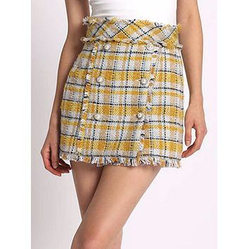 Clueless Plaid Skirt