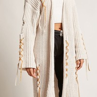 Distressed Longline Cardigan
