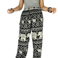 Elephant pants Gypsy pants  Palazzo pants Yoga pants Harem pants Thai pants Hippie clothes Hippie pants Elephant clothes