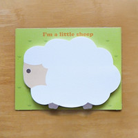 Little Sheep Sticky Note