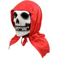 Misfits Men's The Fiend Red Hood Mask Red