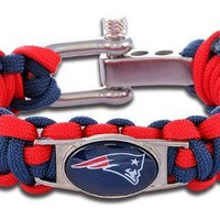 NFL - New England Patriots Custom Paracord Bracelet