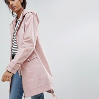 ASOS Tall Summer Parka with Jersey Lining at asos.com