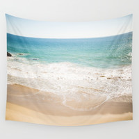 Malibu Dreaming Wall Tapestry by The Dreamery