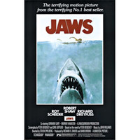 Jaws Domestic Poster