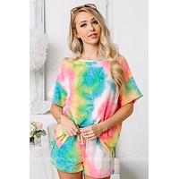 Chasing That Neon Rainbow Tie Dye Top