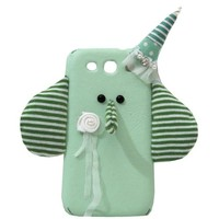 Cute Elephant Handmade PU Cellphone Case For iPhone 5/5s