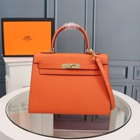2020 New Office hermes h orange Women Leather Monogram Handbag Neverfull Bags Tote Shoulder Bag Wallet Purse Bumbag Discount Cheap Bags Best Quality