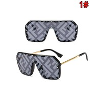 FENDI Fashion Women Men Personality Shades Eyeglasses Glasses Sunglasses 1#