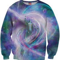 Astral Spirit astrology universe galaxy psychedelic sweatshirt Alterception, 10% off coupon code: 030609