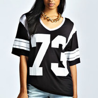 Stephanie 73 Player Oversized Tee