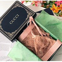 Gucci embroidery Tulle Underwear Set