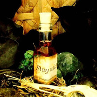 Stay with Me Oil, Loyal Lover, Faithful Marriage, Stay at Home, Marital Fidelity -Love Magic-Folk Magic-Wicca-Voodoo-Witchcraft