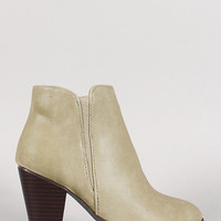 Stone Cold Booties- Taupe