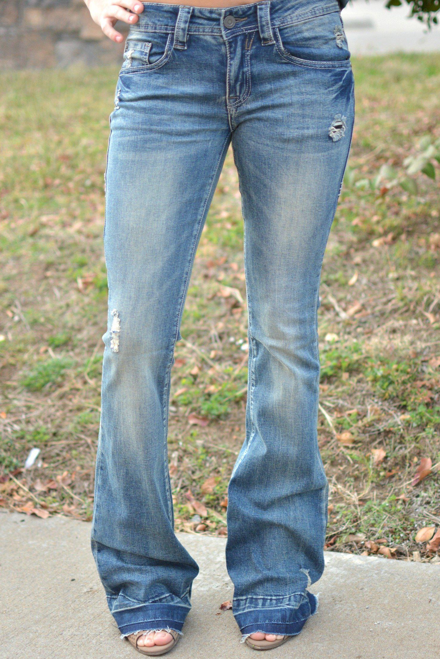 Image of On The Road Flare Jeans