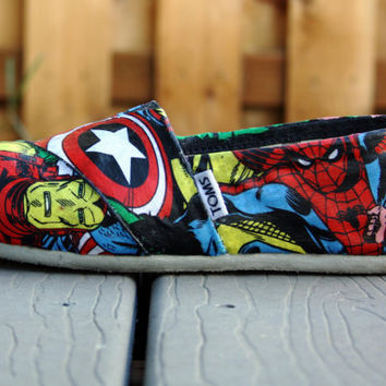 Custom Made Toms (Includes a pair of Toms)