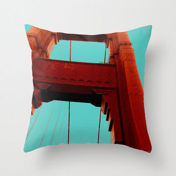 Golden Gate Indoor and Outdoor Throw Pillows