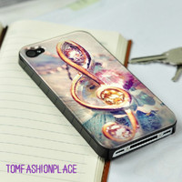 Musical note iphone 4 case iphone 4s case iphone 5 case iphone cover