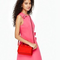 Hot Sale Kate Spade Fashion Mini Women Shopping Leather Tote Handbag Shoulder Bag Color Red
