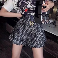 DIOR Fashion Cowboy Short skirt