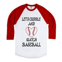 Let's Cuddle and Watch Baseball