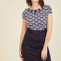 Keeping Tabs Sheath Dress | Mod Retro Vintage Dresses | ModCloth.com
