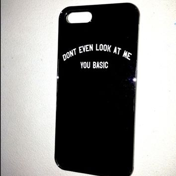 SWEET LORD O'MIGHTY! DONT EVEN LOOK AT ME IPHONE CASE