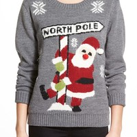 Love by Design 'North Pole' Christmas Sweater | Nordstrom