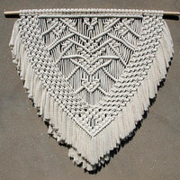 Extra large macrame wall hanging - Ready to ship